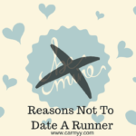 Reasons Not To Date A Runner.