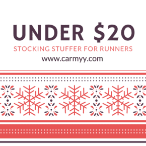 Under $20 Stocking Stuffers for Runners