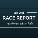 RACE REPORT: 5 Peaks Run, Albion Hills Sport 6.3k, 2015