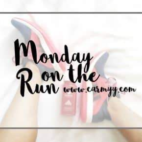 Monday on the Run #81 – catching up, weight loss, goals