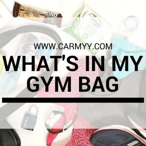 What's In My Gym Bag (June 2016)
