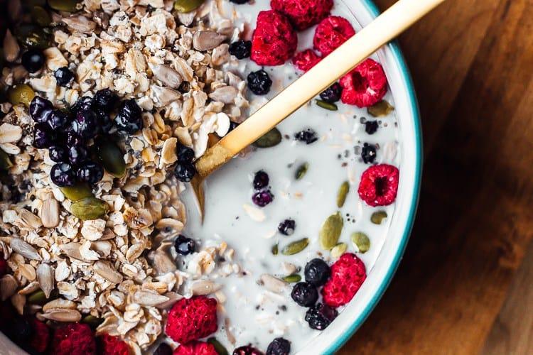 healthy no-cook breakfast recipes