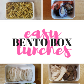 Easy Bento Box Lunches