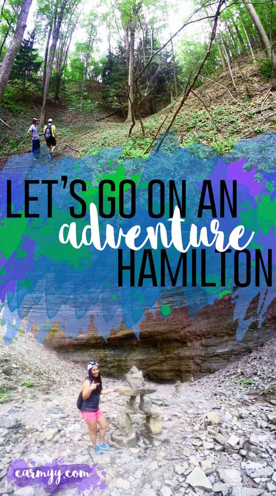 Let's Go On An Adventure: Hamilton - Carmy - Run Eat Travel