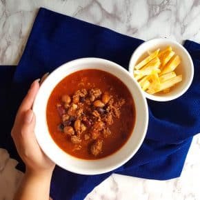 Heart Pork and Beef Chili Recipe