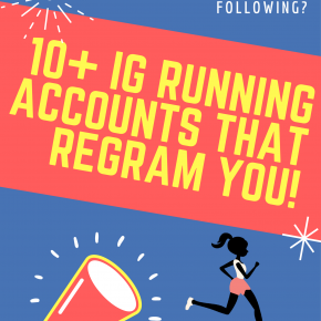 10+ Running Instagram Accounts That Regram You