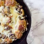 Stuffed Pizza Balls/Pull Apart Bread in a Skillet (with video)