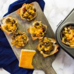 Crunchy Nacho Burrito Taco Cups + Video (aka I got a new camera!)