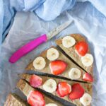 Healthy Flat Bread Breakfast