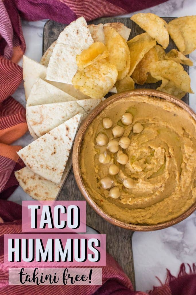 What happens when you crave tacos and hummus at the same time? You combine them and make taco hummus!
