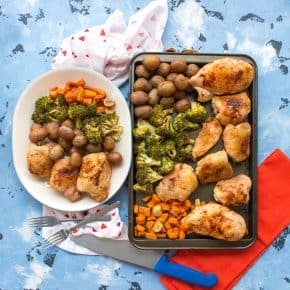 Monday on the Run #66 + Signing Up For A Race + One Sheet Chicken Potatoes and Vegetables Meal Prep