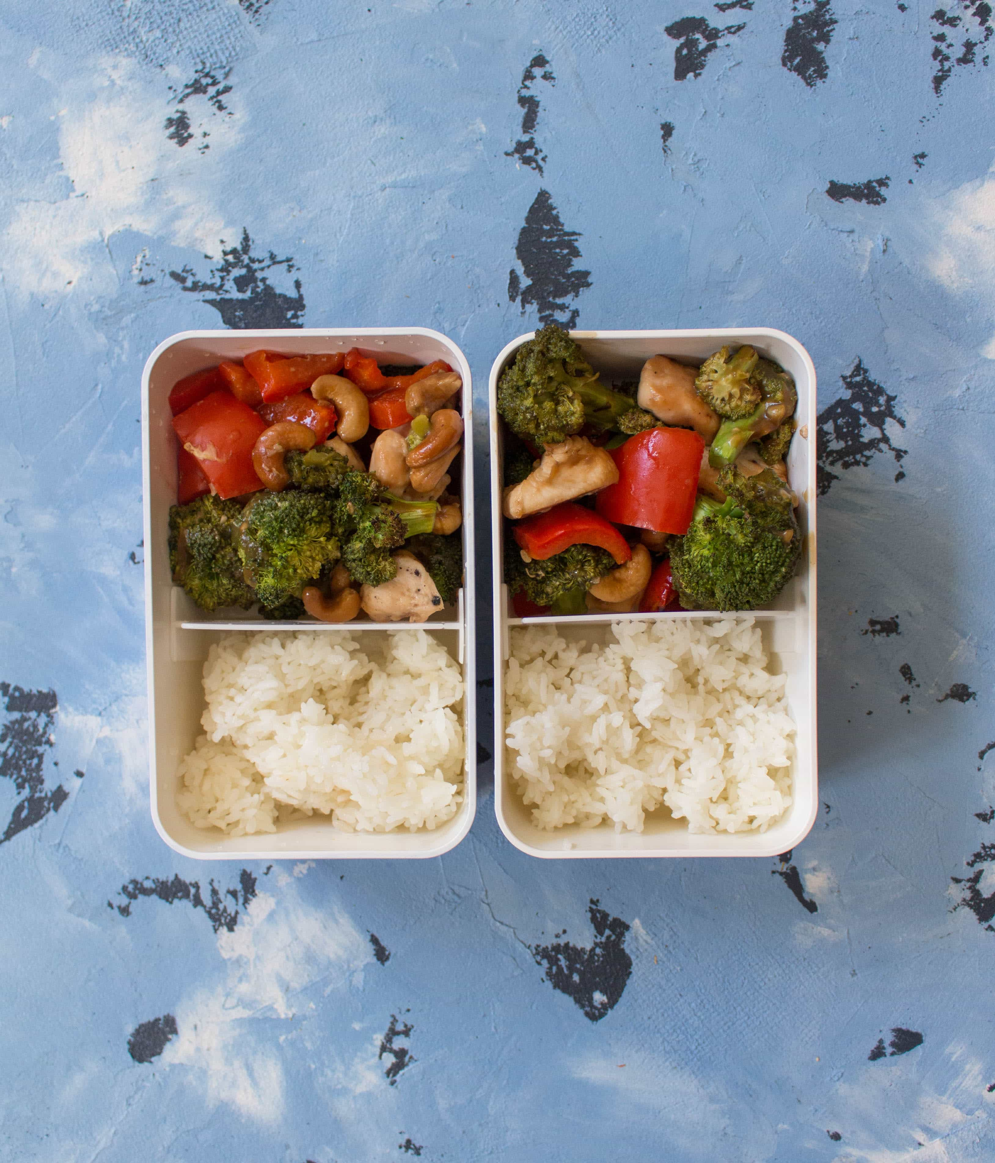 This Sheet Pan Cashew Chicken with Veggies is so easy and fast to make. My take on the popular Chinese takeout dish in under an 40 minutes!
