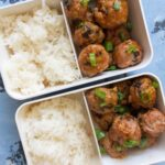 Honey Sriracha Turkey and Mushroom Meatballs + Video