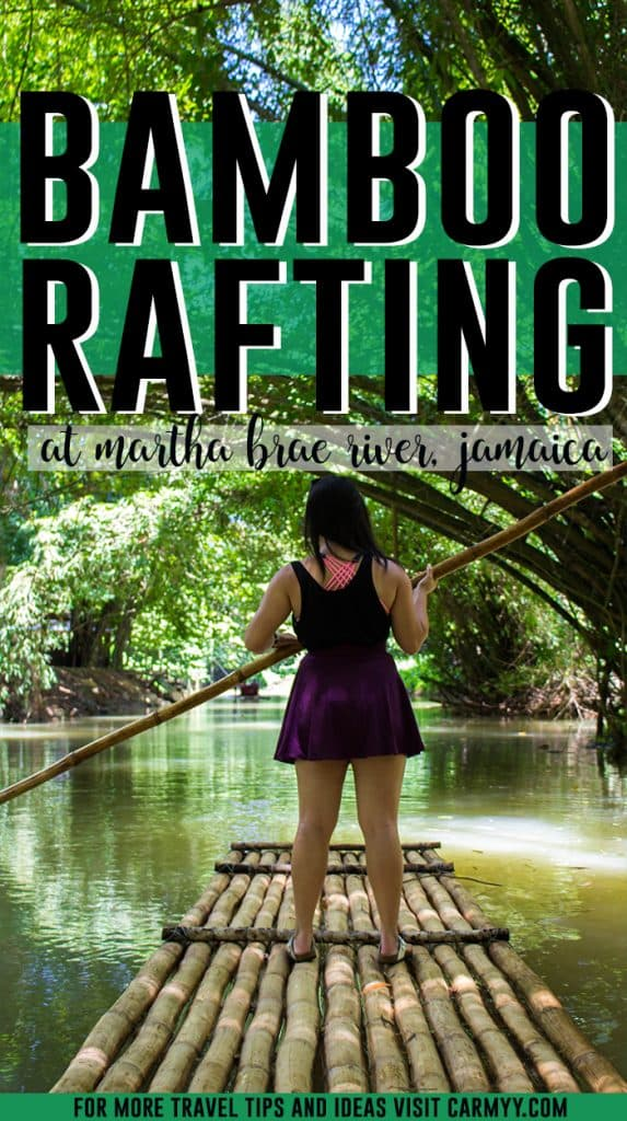 Not sure what to do on your trip in Jamaica other than lay on their beautiful beaches? Rafting down Martha Brae River should be on your list