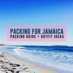 Packing for Jamaica: Packing Guide + Outfit Ideas
