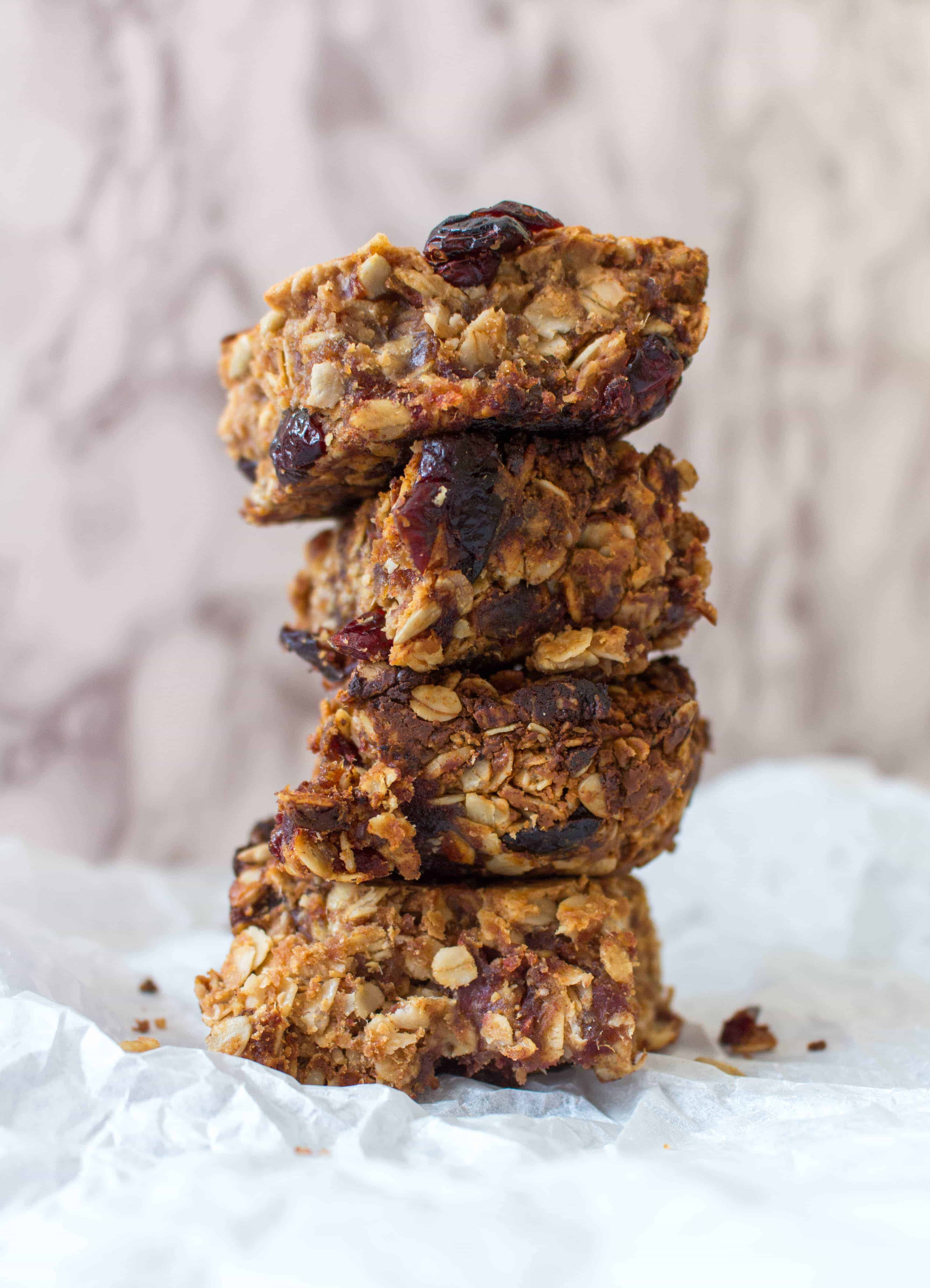 Peanut Butter Dates Energy Bars