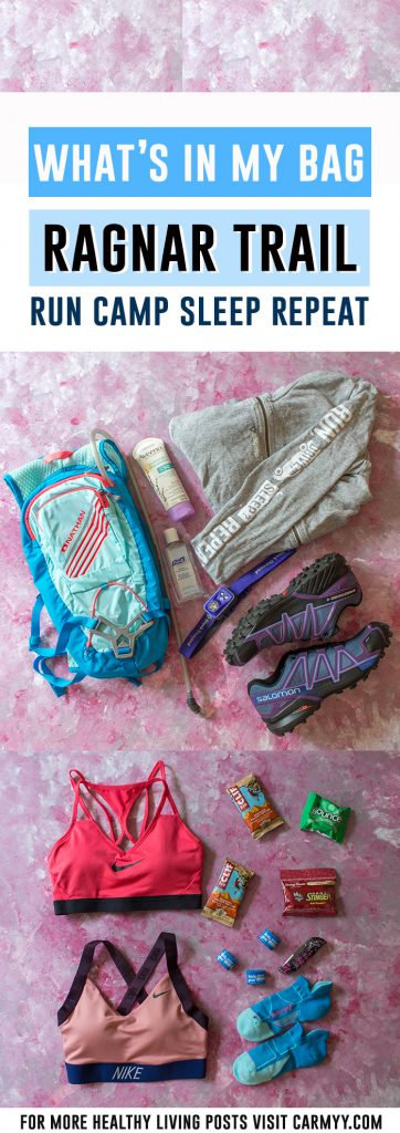 What's In My Bag: Ragnar Trail Edition