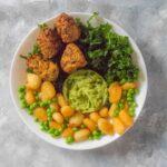 One Bag of Veggie Pakoras, Three Bowls