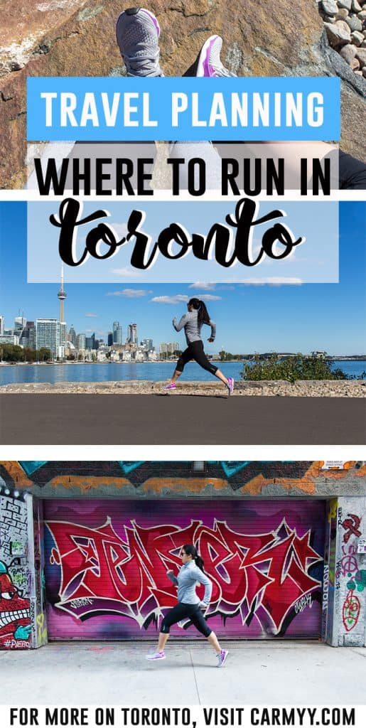 Are you a runner heading to Toronto? Here are five scenic places to run on your next trip to Toronto!