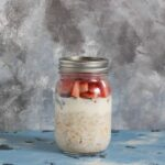 overnight oats 4 ways strawberries and cream