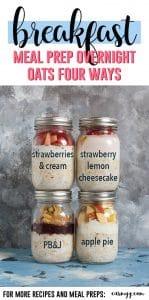 Easy Overnight Oats Recipes + video