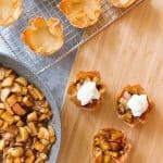 Take a fun new twist on your traditional apple pie with these wonton apple pies. Plus, individual servings means less time spent cutting and more time eating!