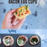 These Freezer Friendly Winter Spice Bacon Egg Cups are a delicious way to start off the day! Nutritious and delicious, these egg cups take less than 30 minutes to make and lasts up to a month in the freezer if you want to batch make them!