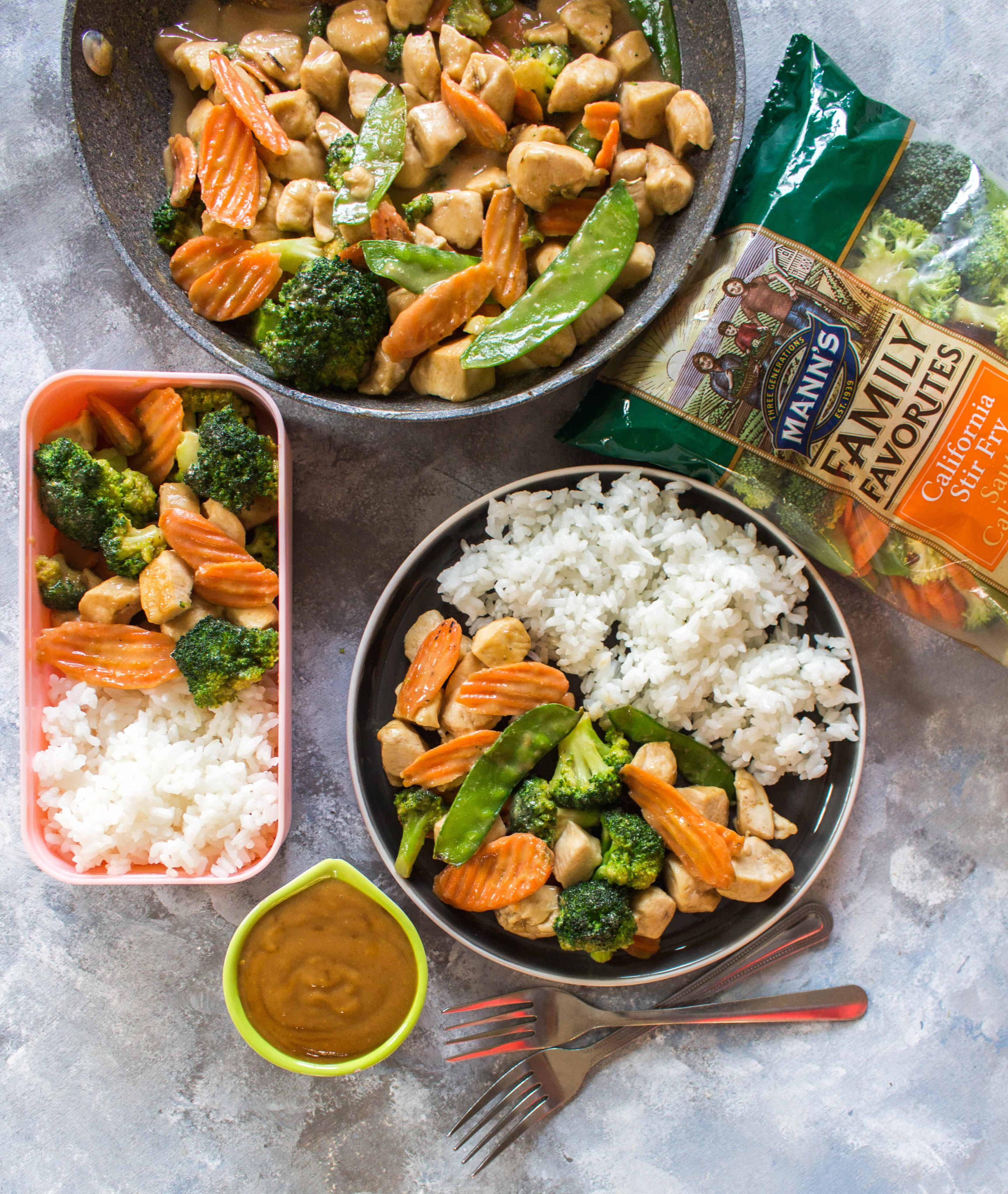 Chicken Stir Fry Meal Prep