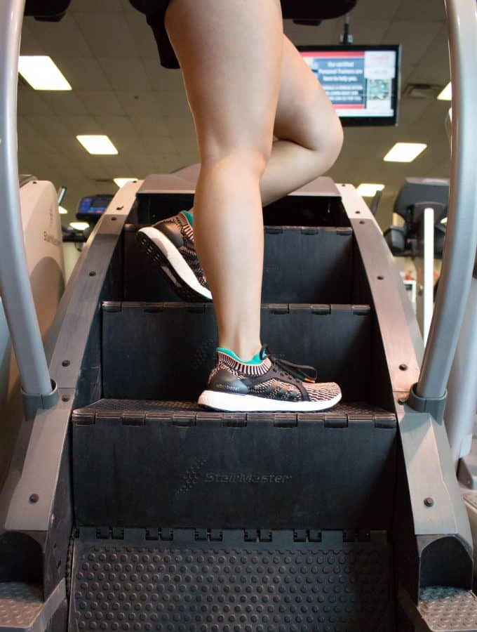 Get your heart pumping and legs burning with one of the best cardio machines at the gym: the StairMaster! Work up a major sweat with this quick and effective 20 minute StairMaster HIIT Workout!