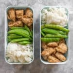 Looking to change up your boring chicken meal prep? Try this Korean Chicken Meal Prep! #chickenrecipes #mealprepideas #chickenmealprep #koreanchicken #koreanmealprep