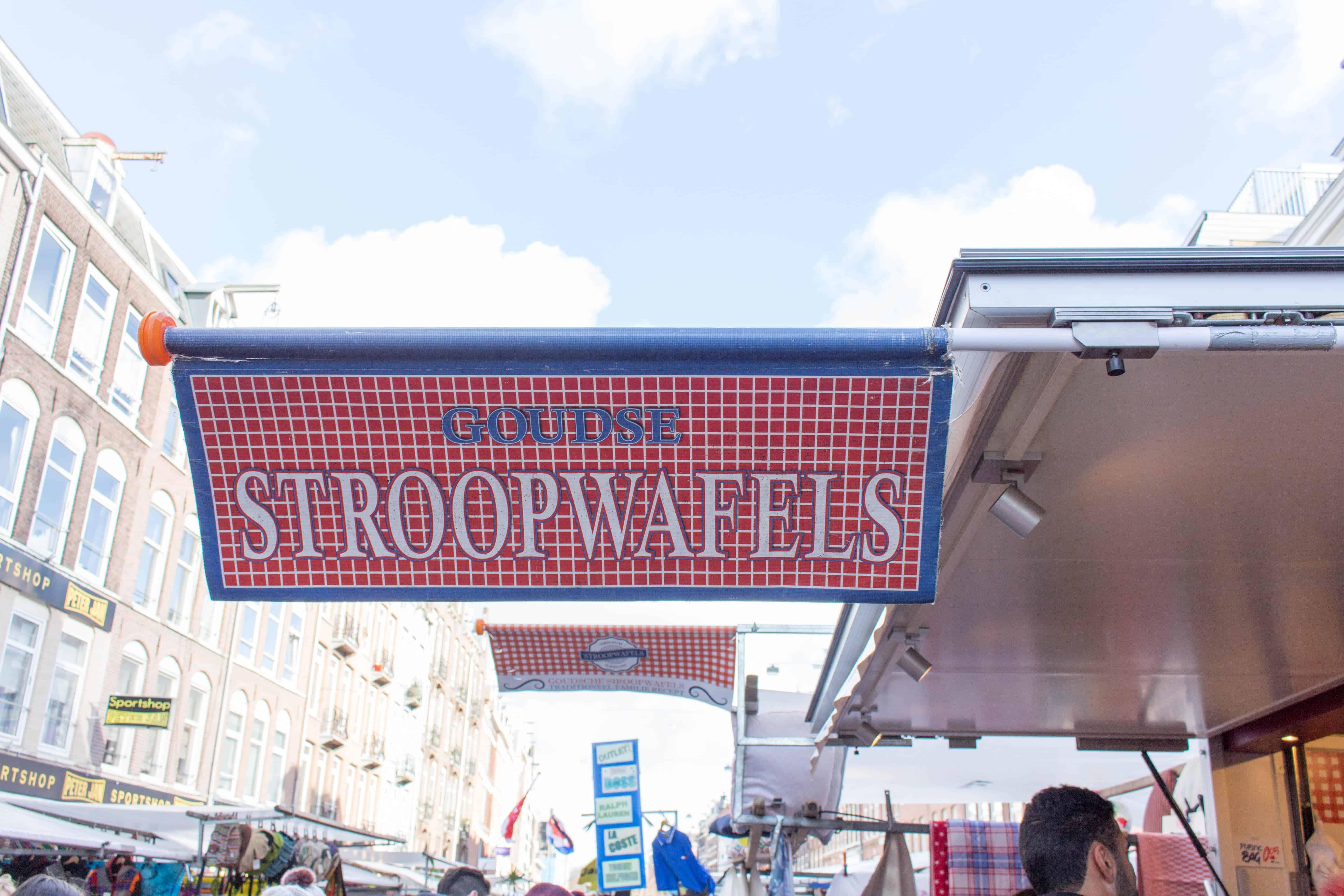 stroopwafels in amsterdam in albert cuyp market