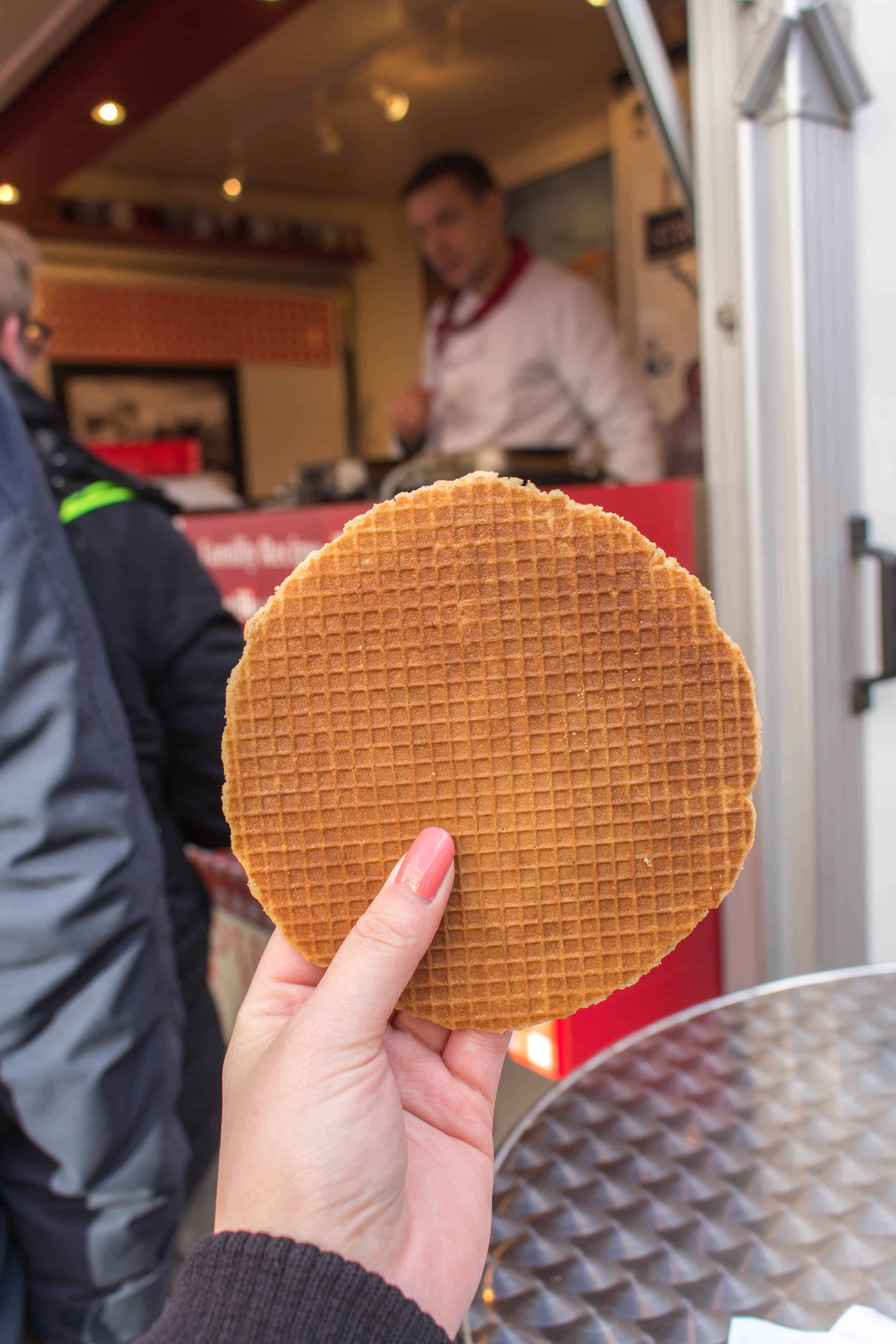 stroopwafel at albert cuyp