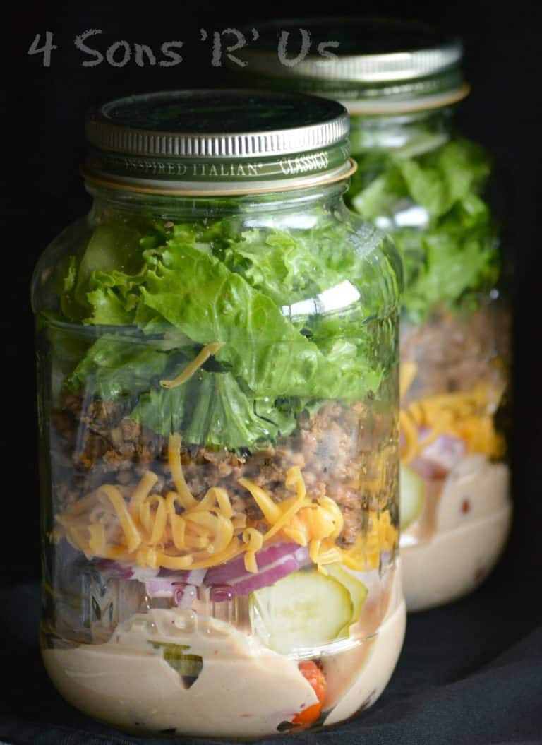 food in jars round up