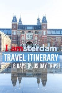 How my friend and I spent 6 days in Amsterdam! A travel itinerary. #Amsterdam #TheNetherlands #AmsterdamTravelItinerary #HollandTravel #Travel #TravelItinerary