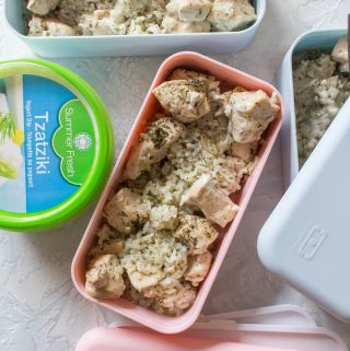 This Healthy Greek Chicken Instant Pot Meal Prep Recipe is the perfect meal prep for the week! This Greek Chicken recipe is so quick and easy, you're going to want to make all the time because it takes just a few spices and a couple of minutes to make! Non-Instant Pot instructions are down below if you don't have an Instant Pot! #Instantpot #easyrecipe #greekchicken #chickenrecipe