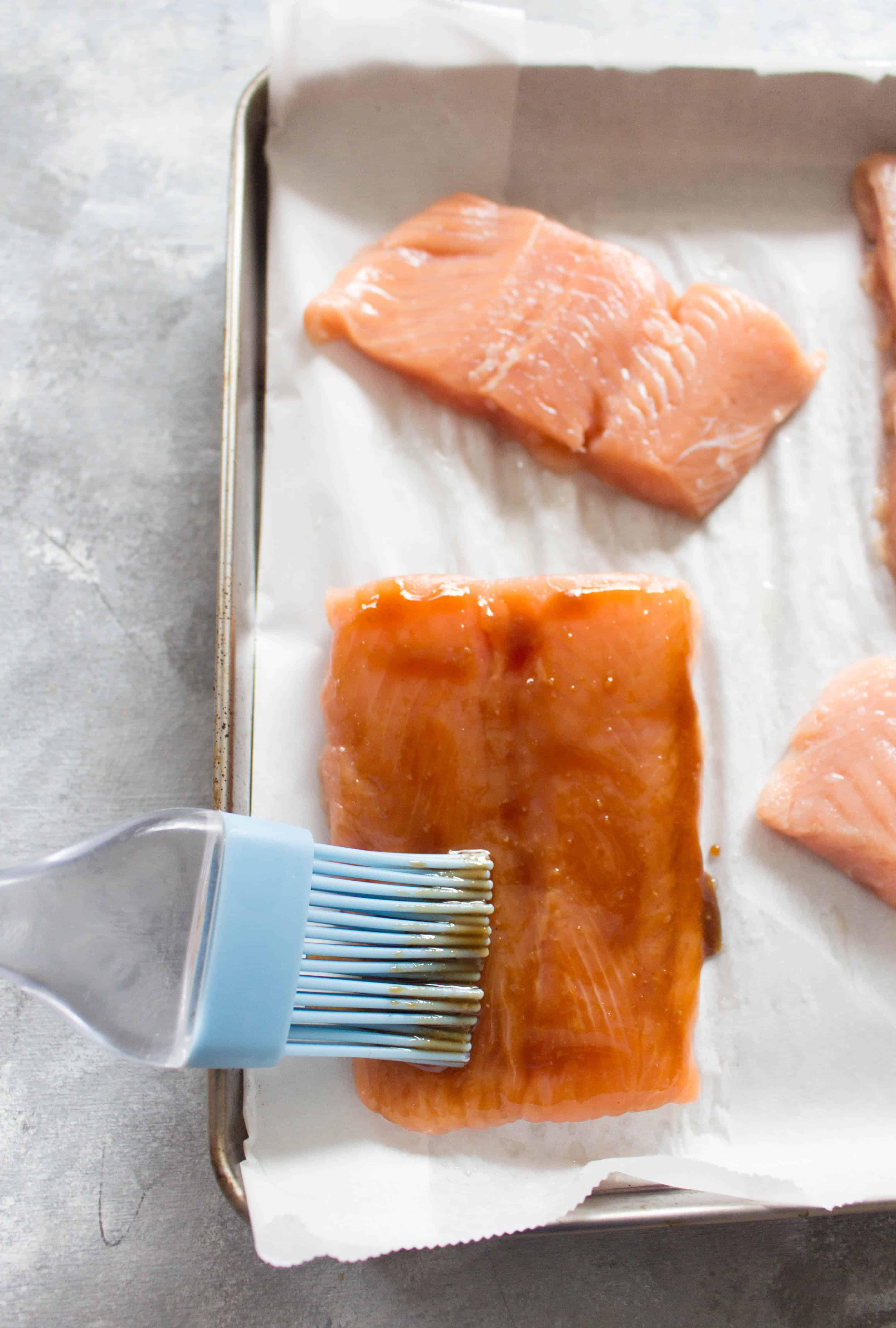 Easy Hoisin Glazed Salmon Meal Prep