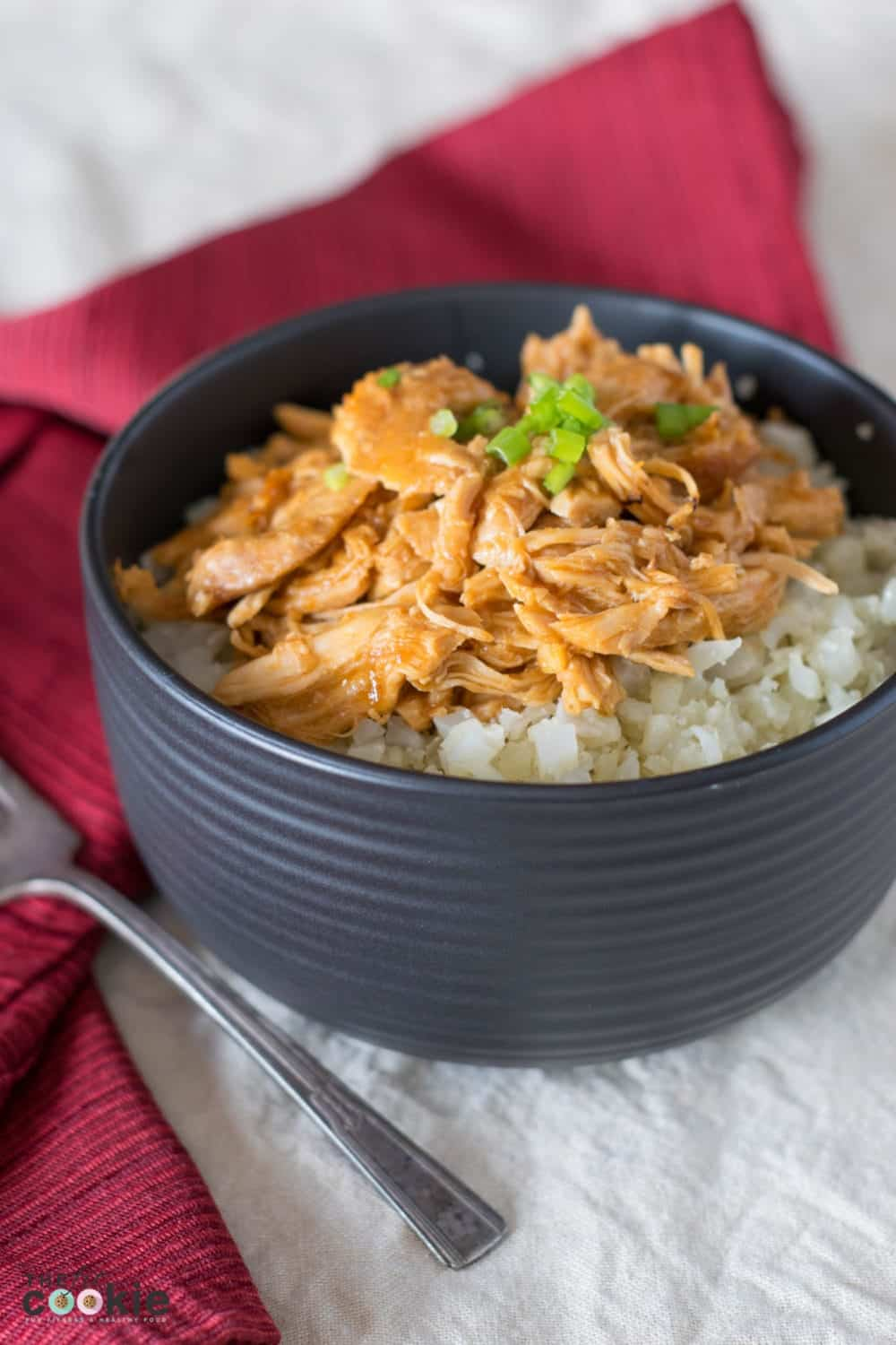 If you're looking for an easy and allergy-friendly weeknight meal, this Slow Cooker Asian Chicken is for you! It's full of fresh ginger and garlic flavor, plus it's gluten, peanut, and soy free
