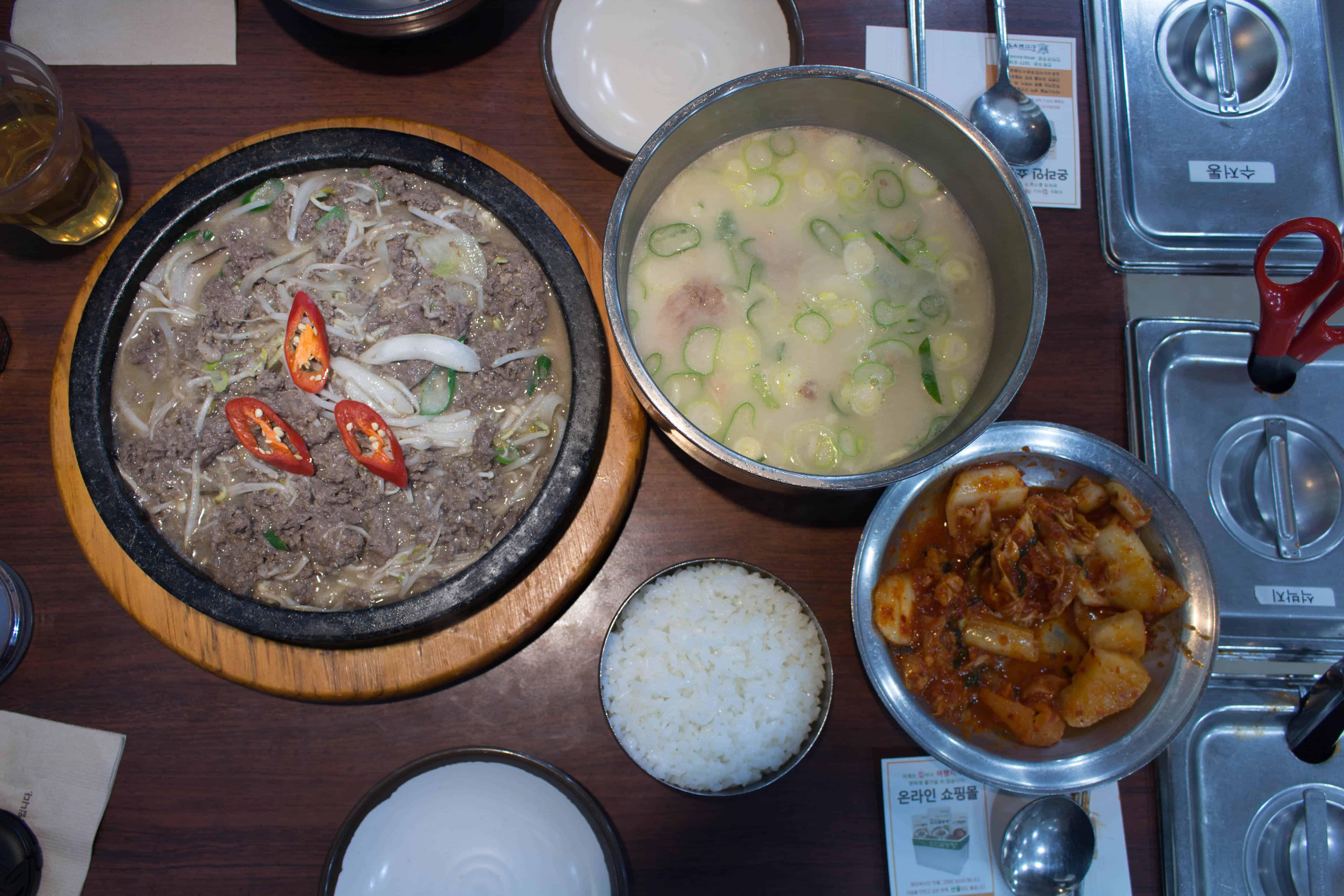 Sinseon Seolleongtang |56-1, Myeongdong-gil, Jung-gu, Seoul