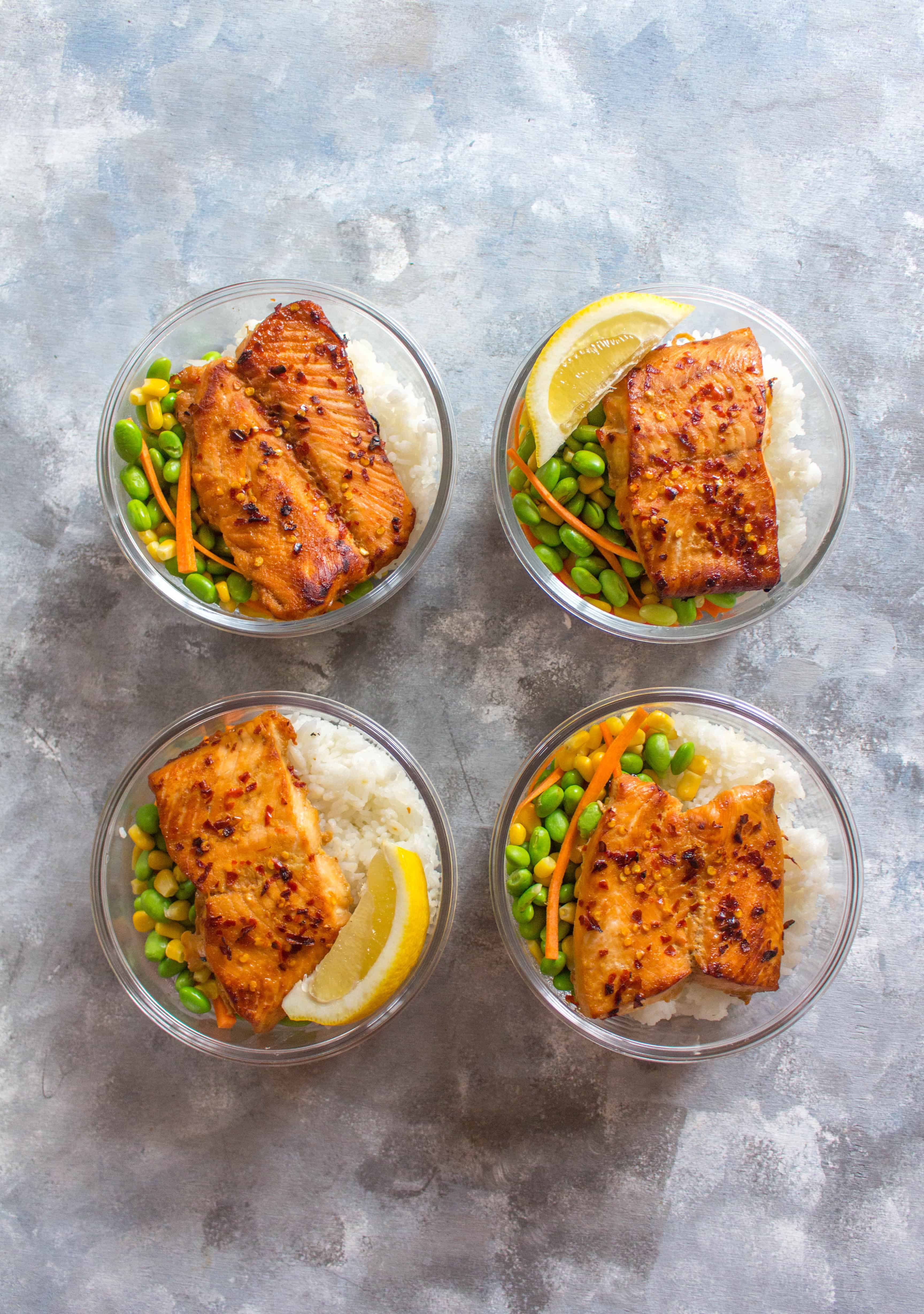 This quick and easy Sweet Chili Salmon Meal Prep is super delicious, flavourful, and my new go-to meal! It makes for the perfect meal prep and a tasty weeknight dinner!