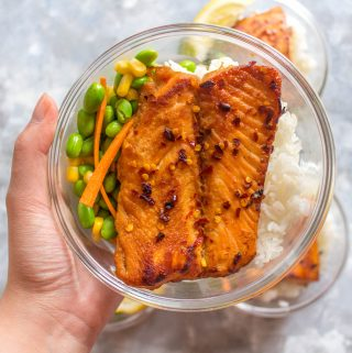 This quick and easy Sweet Chili Salmon Meal Prep issuper delicious, flavourful, and my new go-to meal! It makes for the perfect meal prepand a tasty weeknight dinner!