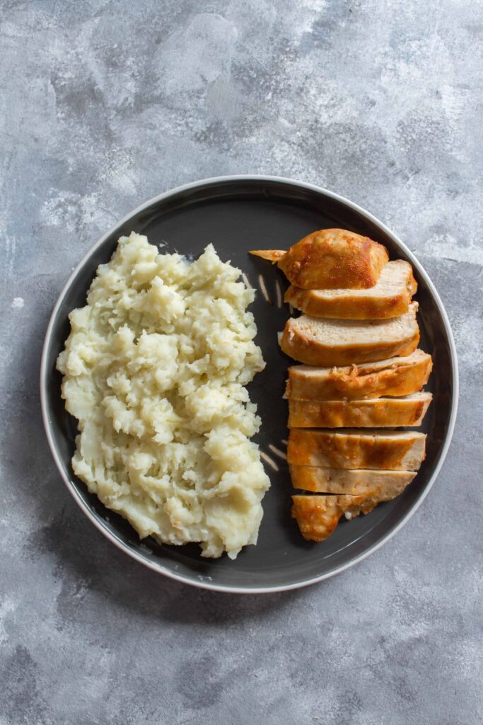 Instant Pot Sriracha Chicken And Mashed Potatoes Carmy Run Eat Travel