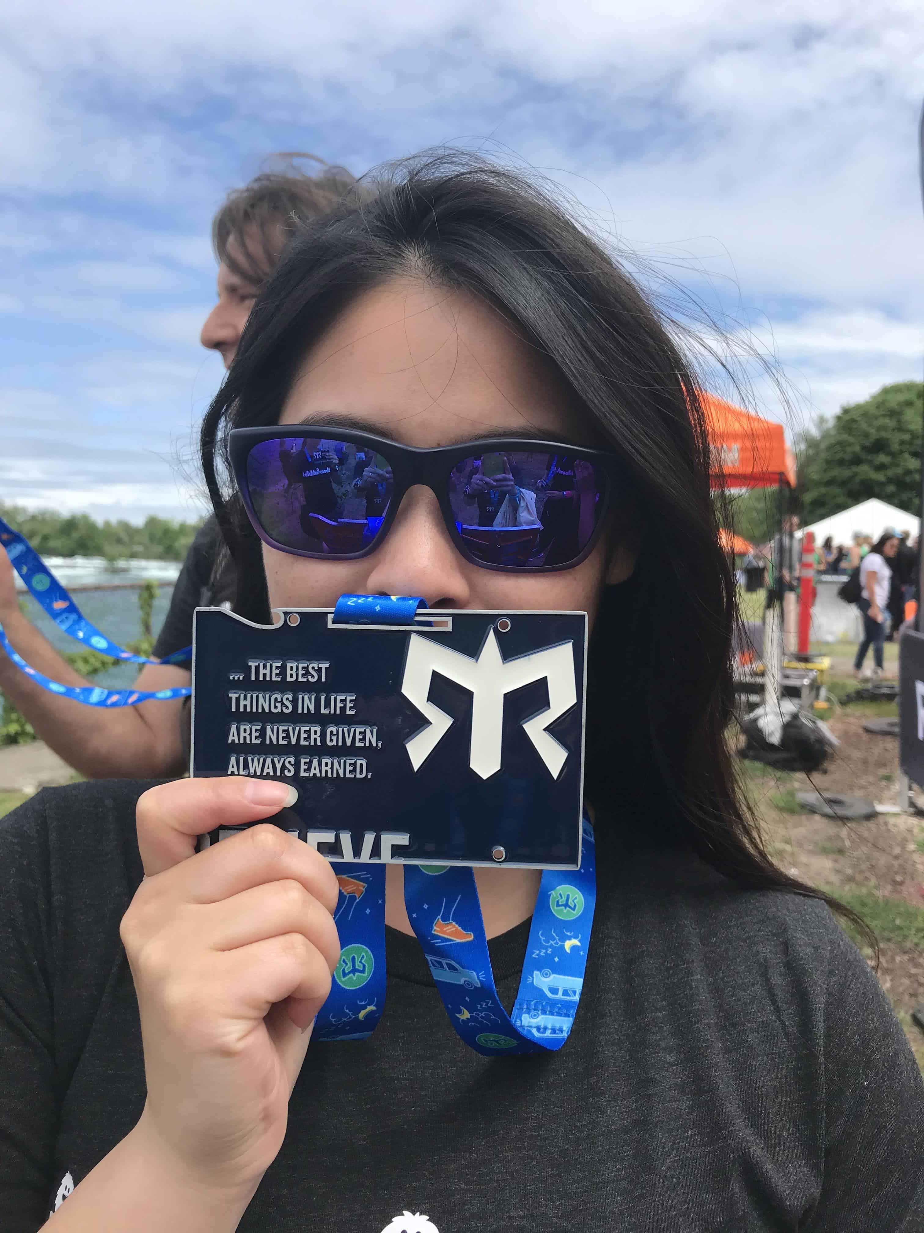 Ragnar Niagara Relay 2018 medal