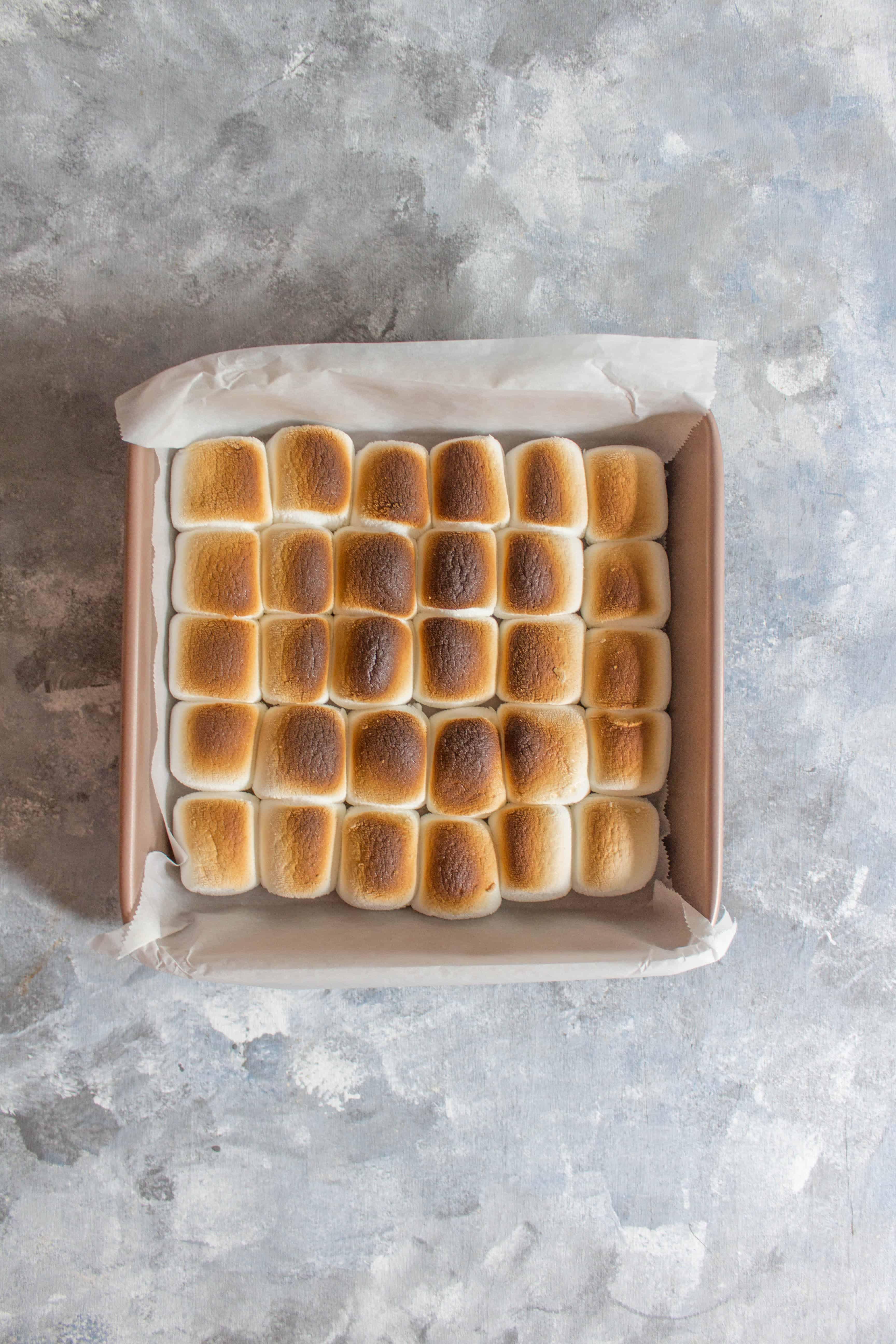 Toasted Marshmallow and Oreo Milkshake