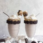 Toasted Marshmallow and Oreo Milkshake Freak Shake