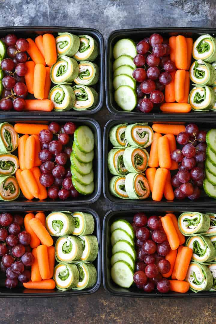 make ahead cold work lunch meal prep