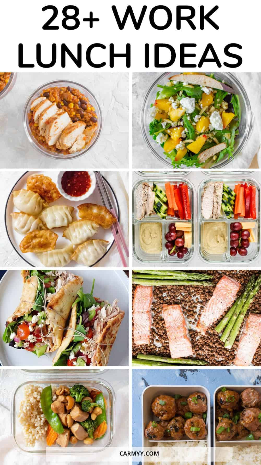 New Meal Prep Ideas For Work Lunch
