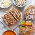 Who's ready for back to school season? Get those lunch boxes ready for thebest grilled cheese sandwichfeaturing OneBun. Double the cheese with a hit of protein, this really is the best grilled cheese you can have for lunch!