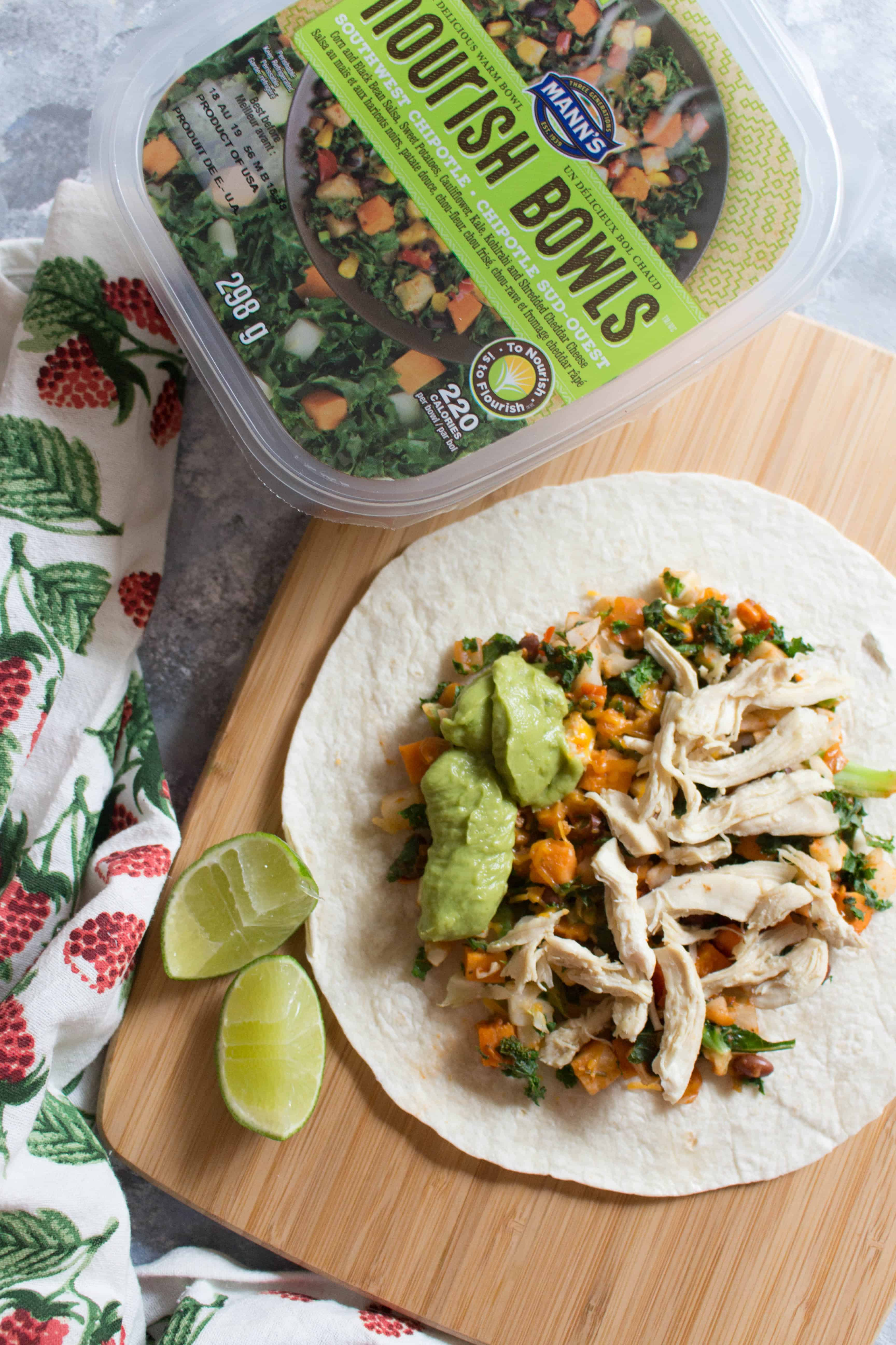 Southwest Chipotle Chicken Wrap