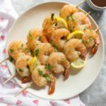 Cooked in under 10 minutes, this easy sweet lemon shrimp meal prep is packed with flavour. Look no further for this week's meal prep than this easy sweet lemon shrimp meal prep!