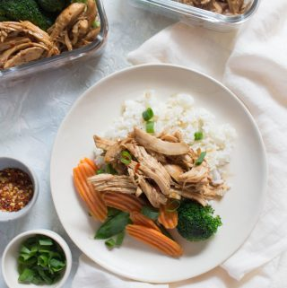This Instant Pot Teriyaki Chicken is full of bold flavours that will quickly become a weeknight family favourite and is makes the perfect speedy meal prep.